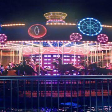 Bollywood park ride Dubai