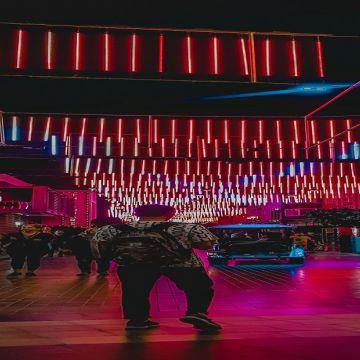 Night at Dubai
