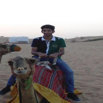 Camel ride at Dubai