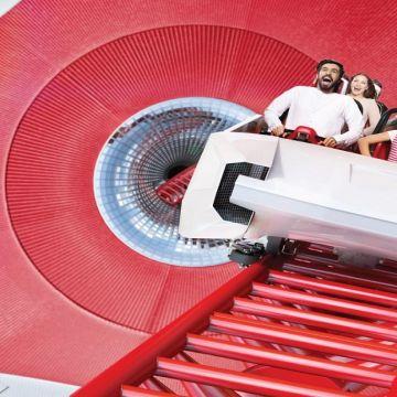 Attraction at Ferrari World Dubai