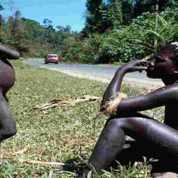 Jarawa tribes in Andaman