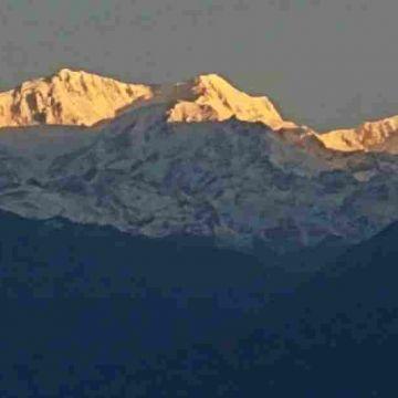 Mount Pandim from Pelling