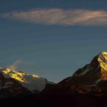 Mount Jopuno in Sikkim