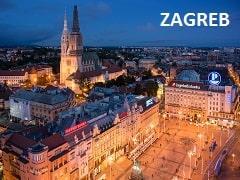 ZAGREB CITY CROATIA