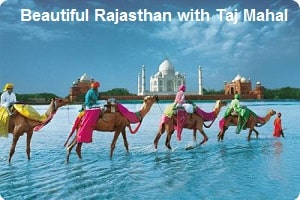 BEAUTIFUL RAJASTHAN WITH TAJ MAHAL